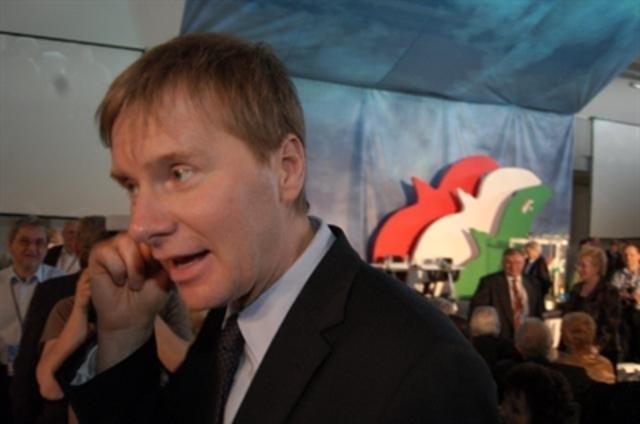 Fodor Gábor, az új pártelnök