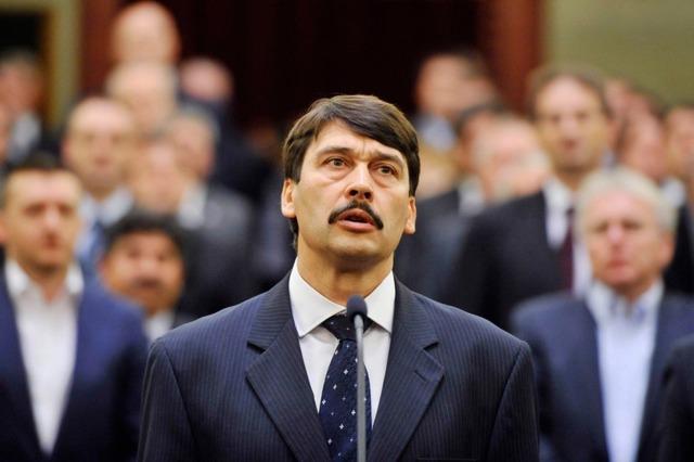 Áder János az új köztársasági elnök