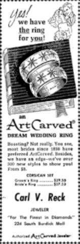 A Wedding Ring Ad?!