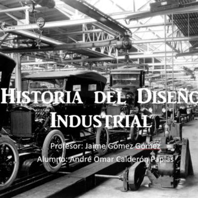 Linea del Tiempo - Historia del Diseño Industrial timeline