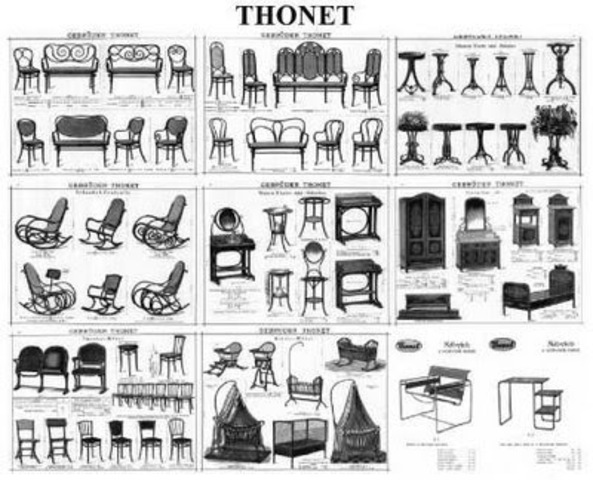 Michael funda Thonet hermanos