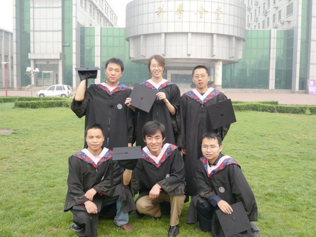 Graduation From Shanxi Normarl University