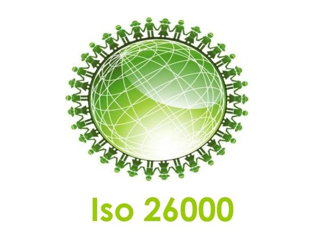 Creación ISO 26000,