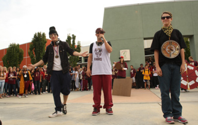 hip-hop on display
