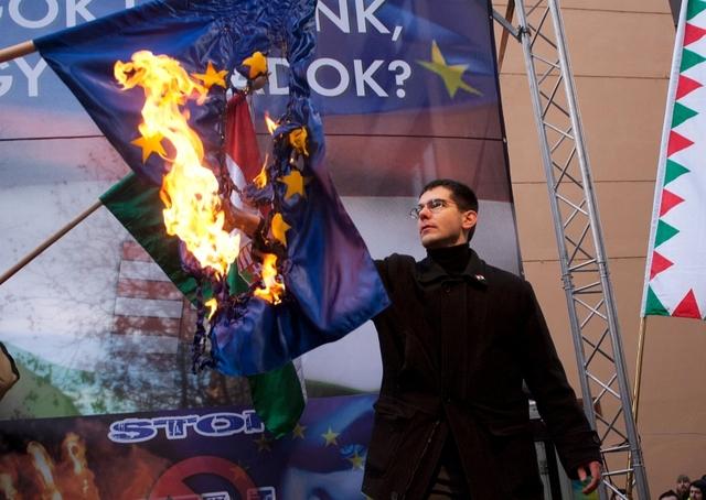 EU ellenes demonstráció