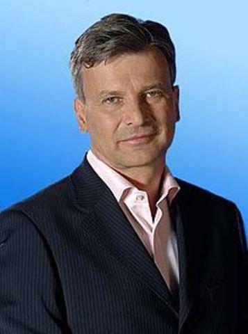 Demszky Gábor, a párt új elnöke