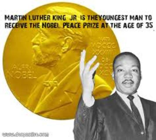 Tag Martin Luther King Wins The Nobel Peace Prize