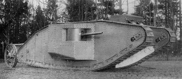 first tank combat in the battle of the somme
