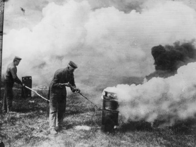 first use of chlorine gas on ypres