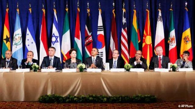 En Septiembre de 2011, se constituyo el Open Govermment Partnership