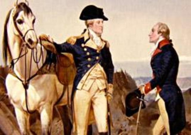 Hamilton joins the continental army