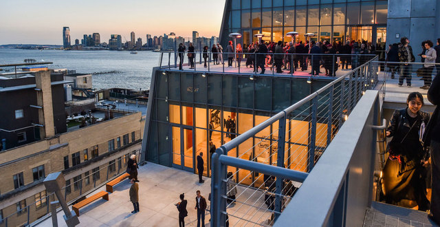 Move to New York City to participate in the Whitney Museum's independent study program