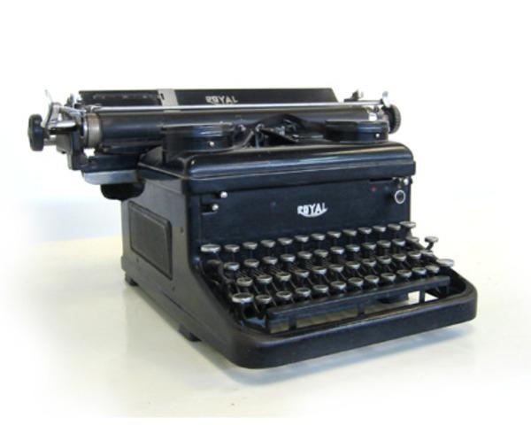 tiramos la máquina de escribir