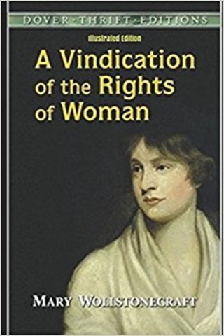 Mary Wollstonecraft wrote A Vindication of the Rights of Women - promoting women's education as virtuous.