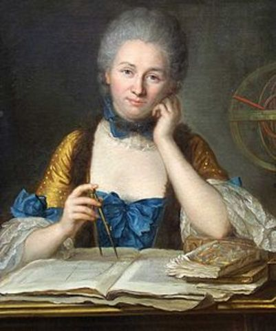 Emilie du Chatalet (a mathematician and physicist) translated Newton's work from Latin into French.
