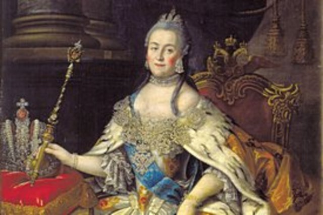 The enlightened despot, Catherine the Great, began her rule of Russia.