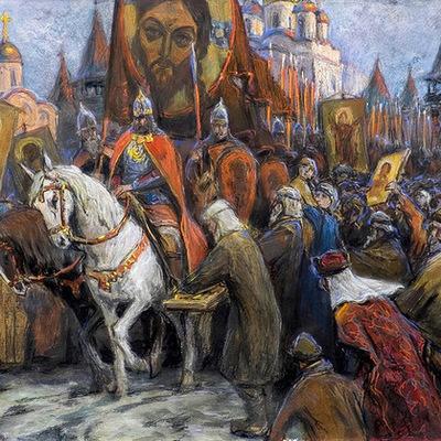 Россия в средние века timeline