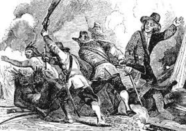 The Pequot War (Massacre)
