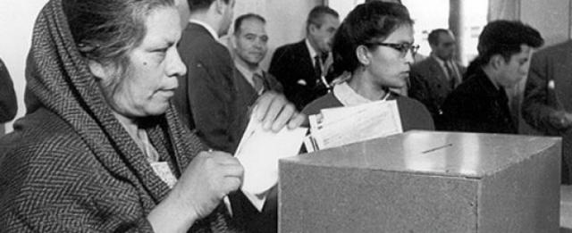 Derecho de Voto por parte de las Mujeres