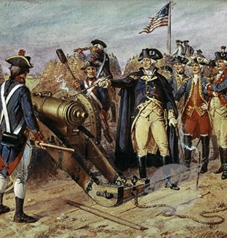 Batalla de Yorktown.