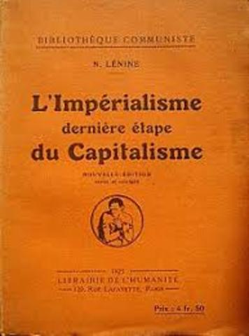 Lenin writes Imperialism 1917