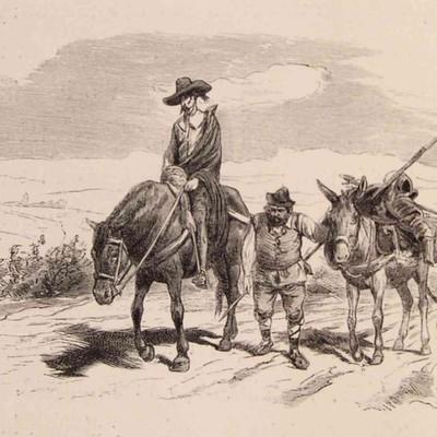 Las salidas de Don Quijote de la Mancha timeline