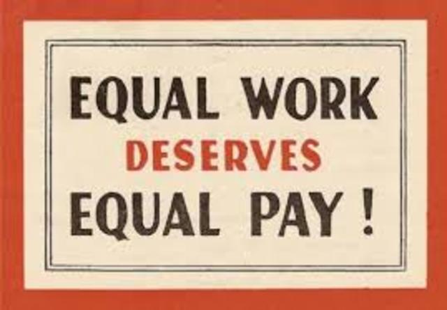 Equal Pay Act of 1963