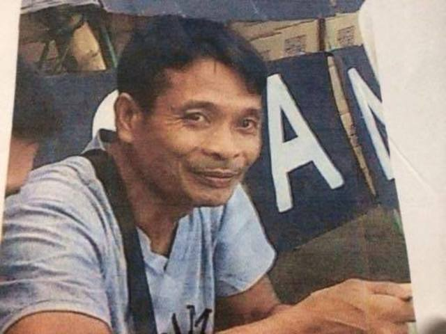 NFSW leader Alexander Ceballos (Negros Occidental)
