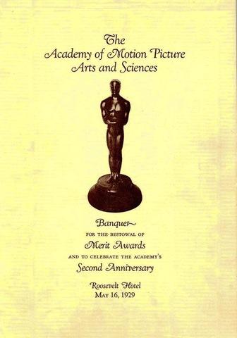 First Academy Award