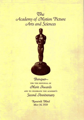 First Academy Award