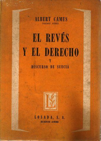 """""""EL REVÉS Y EL DERECHO"""""""