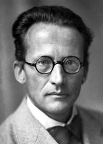 Erwin Schrodinger wins a Nobel Prize in Physics