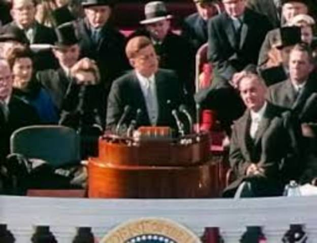 John F. Kennedy Inaugurated