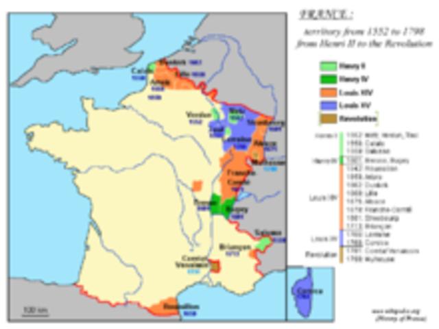 La France en 1715