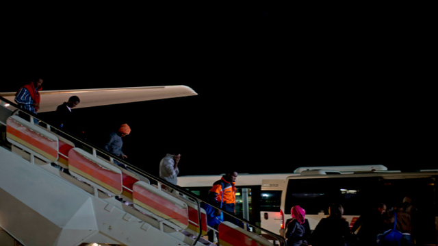 Llegada a España