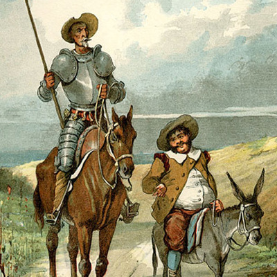 Salidas y aventuras de Don Quijote timeline