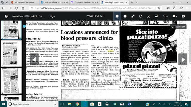 Locations announced for blood pressue clinics