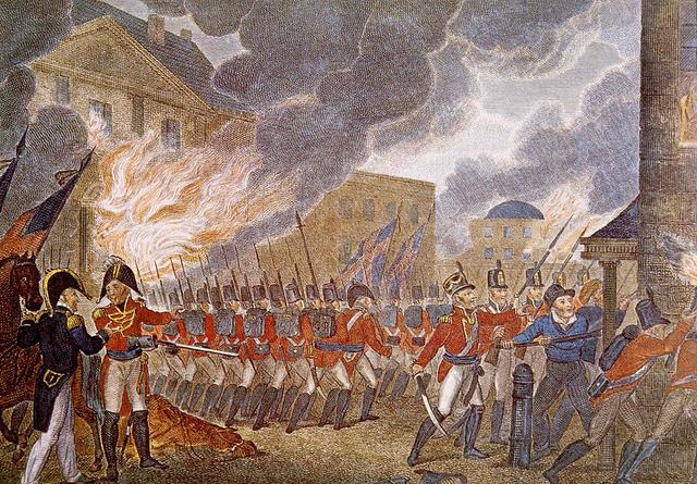 The British Burn Washington, DC