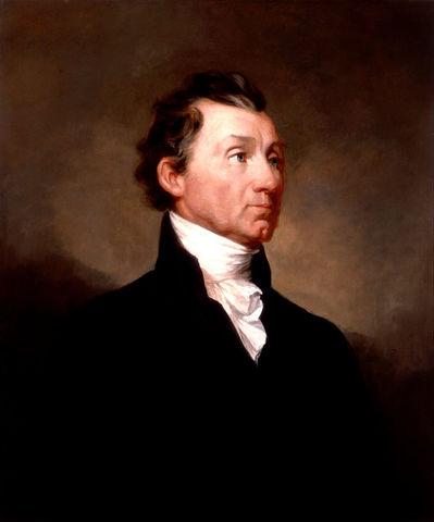 James Monroe elected president.