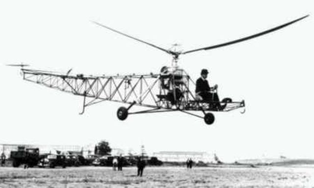 The First Helicopter