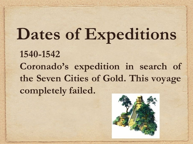 The expedition is a failure