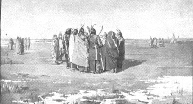 Ghost Dance gatherings
