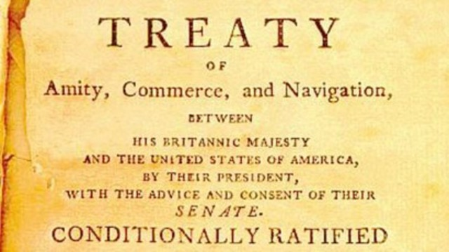 """jays treaty essay Jay's treaty essay jay's treaty jay's treaty official name is the """" treaty of amity commerce and navigation"""" this treaty was actually negotiated by the supreme court chief justice john jay during the time of november, the specific date was november 19, 1794."""