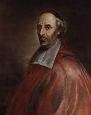 Mgr. de Laval, first bishop of Québec