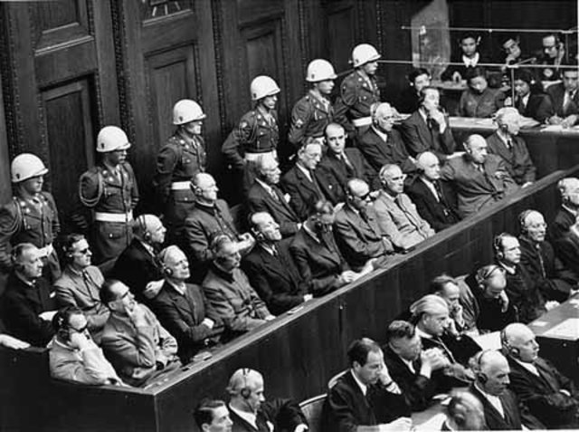 •Nuremberg Trials