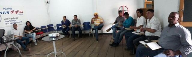 Reunión de articulación con alcaldía municipal