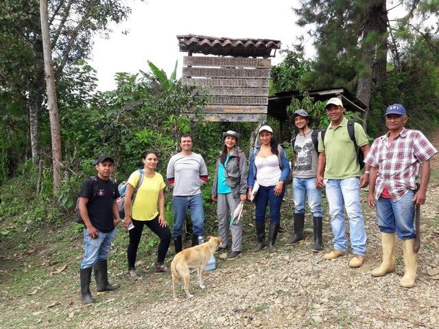 Jornada de campo en la Reserva Natural municipal Munchique los tigres