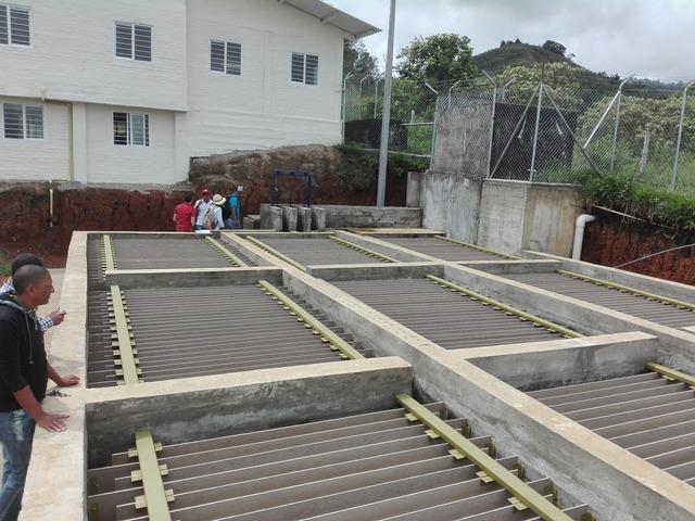 Visita al sistema de acueducto Aguas del CURPAQ