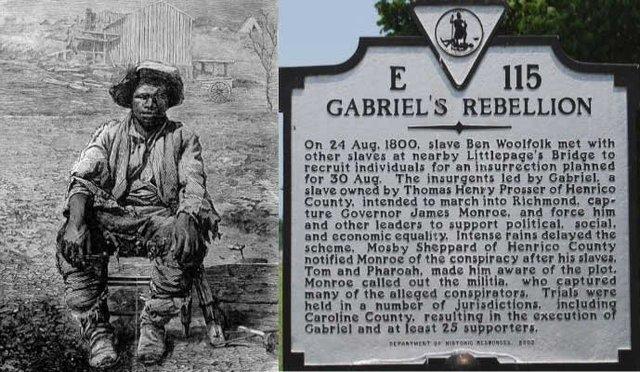 Gabriel Prosser's Slave Rebellion
