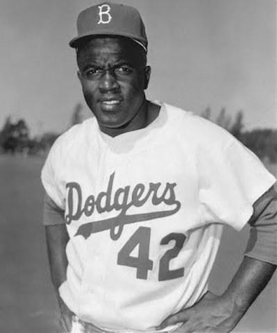 "Jackie Robinson breaks the ""color barrier"" in Major League Baseball"
